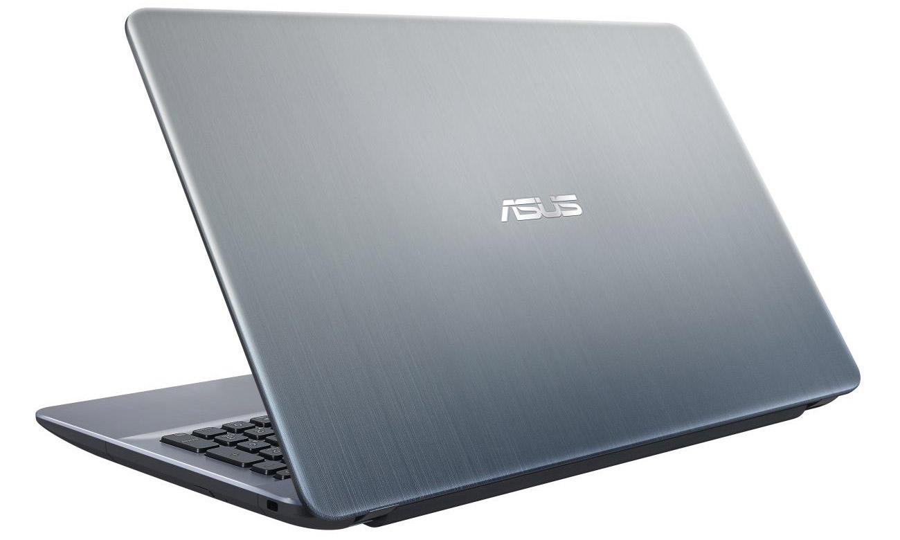 Srebrny ASUS R541NA produktywność, rozrywka