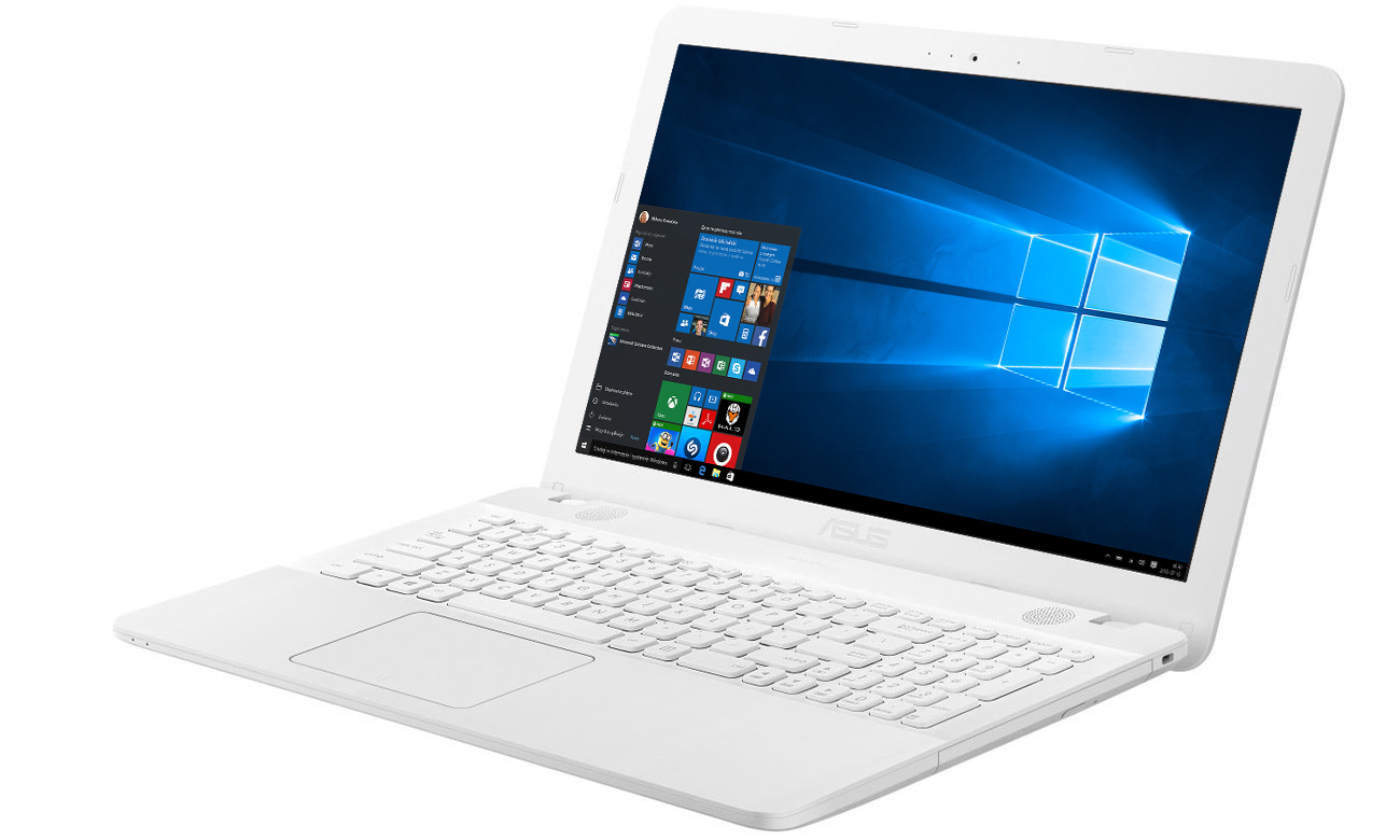 White ASUS R541UA Intel HD Graphics