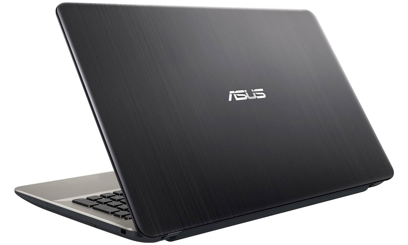 Czarny ASUS R541UA Intel HD Graphics