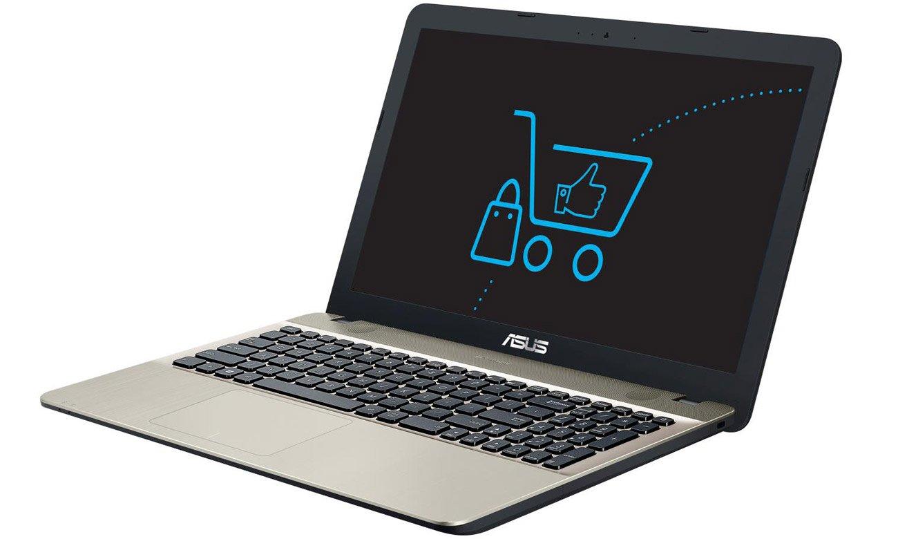 Czarny ASUS R541UA system dźwiękowy SonicMaster