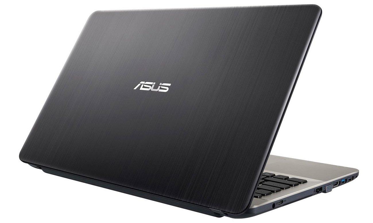 Czarny ASUS R541UA USB typu C