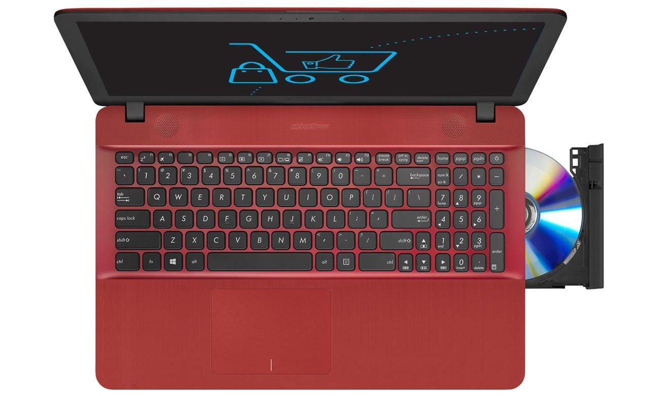 Czerwony ASUS R541UA Intel Core i3-7100U