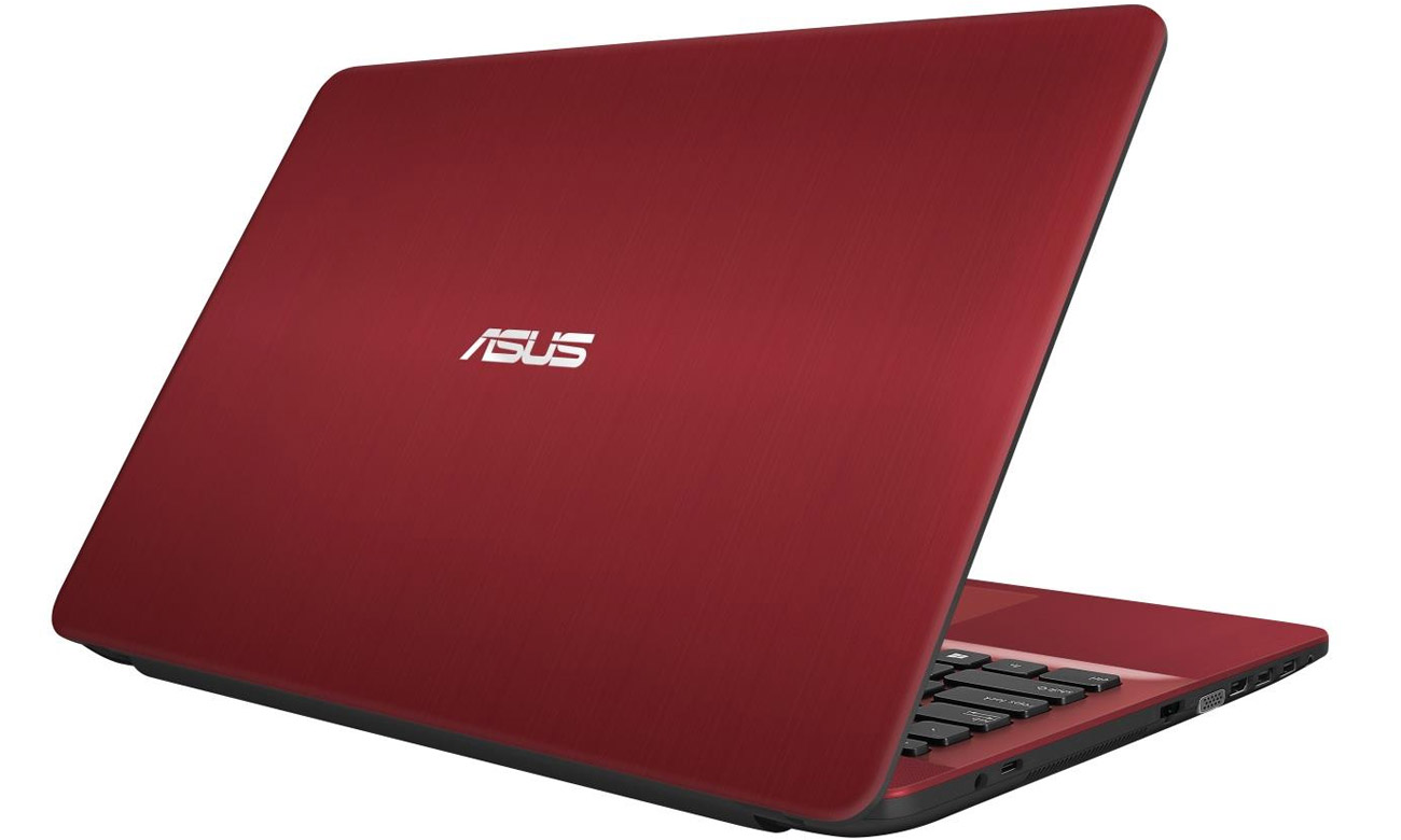 Czerwony ASUS R541UA produktywność, rozrywka
