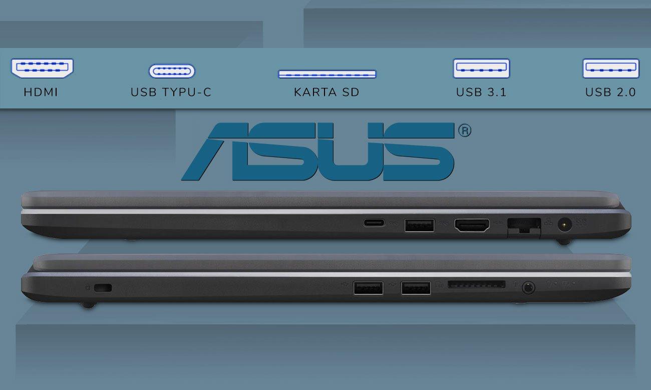 ASUS VivoBook R702UF Kompletna łączność z USB Typu-C