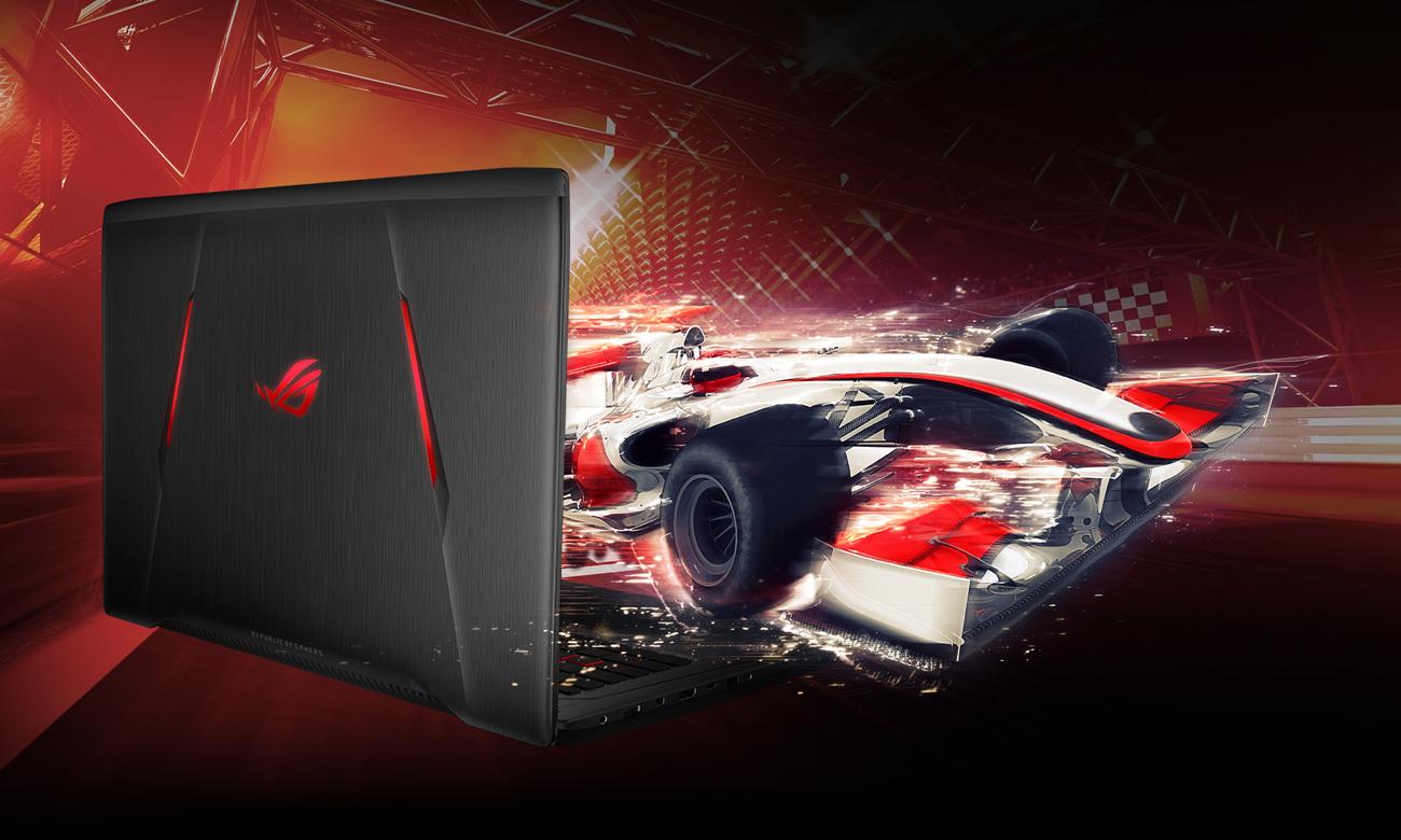 ASUS ROG Strix GL702ZC Dysk SSD NVMe, superszybkie ładowanie danych
