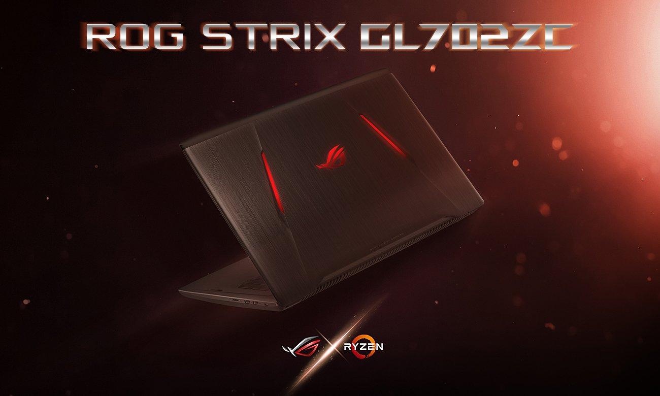 ASUS ROG Strix GL702ZC Zapewnia niesamowite osiągi