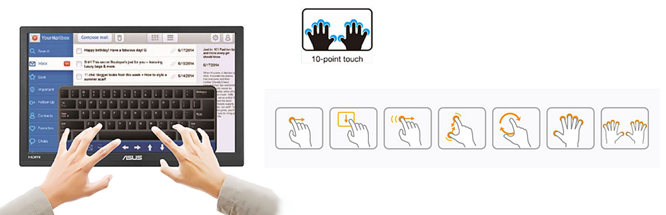 asus multi-touch