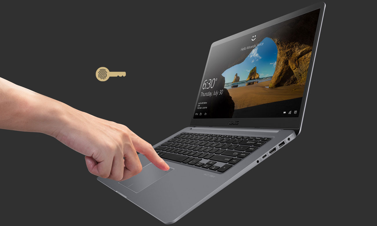 ASUS VivoBook S15 S510UN Czytnik linii papilarnych