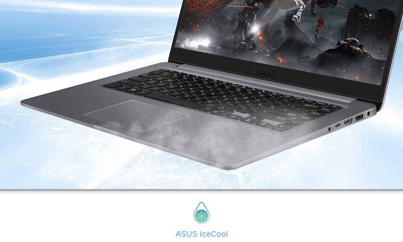 ASUS VivoBook S15 S510UN Idealne chłodzenie ASUS IceCool