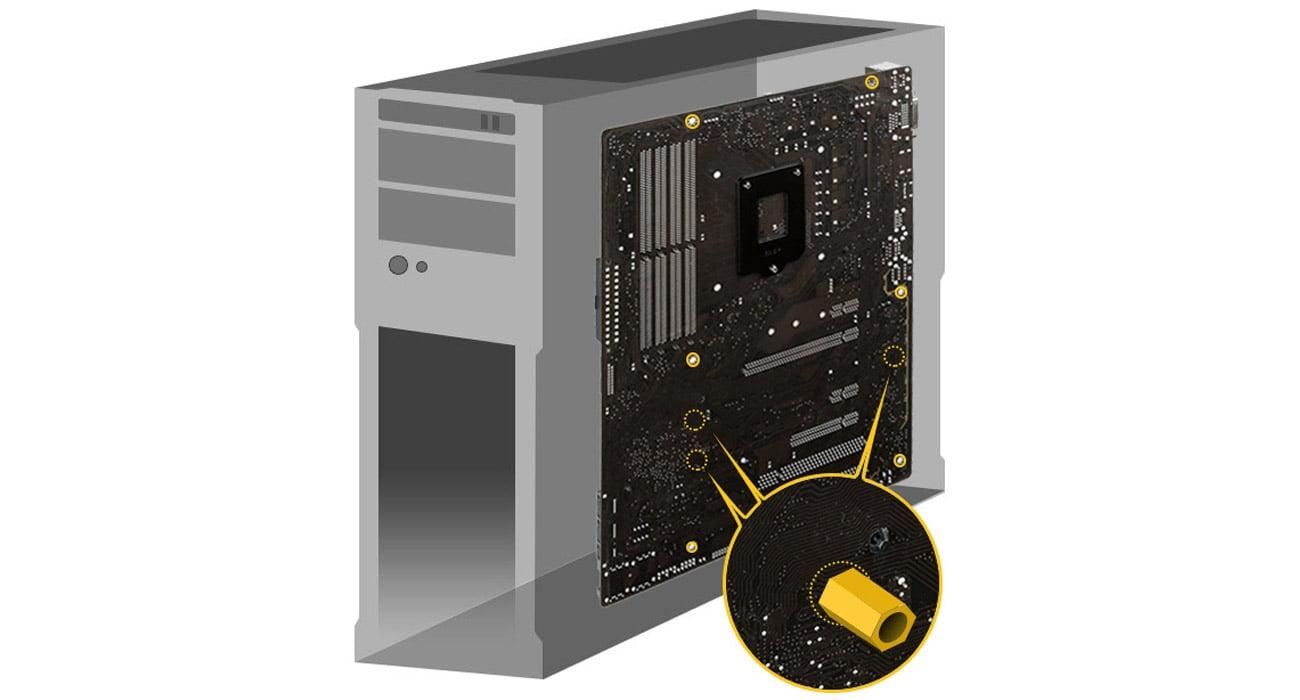ASUS Z170-A Bezpieczny montaż płyty głównej