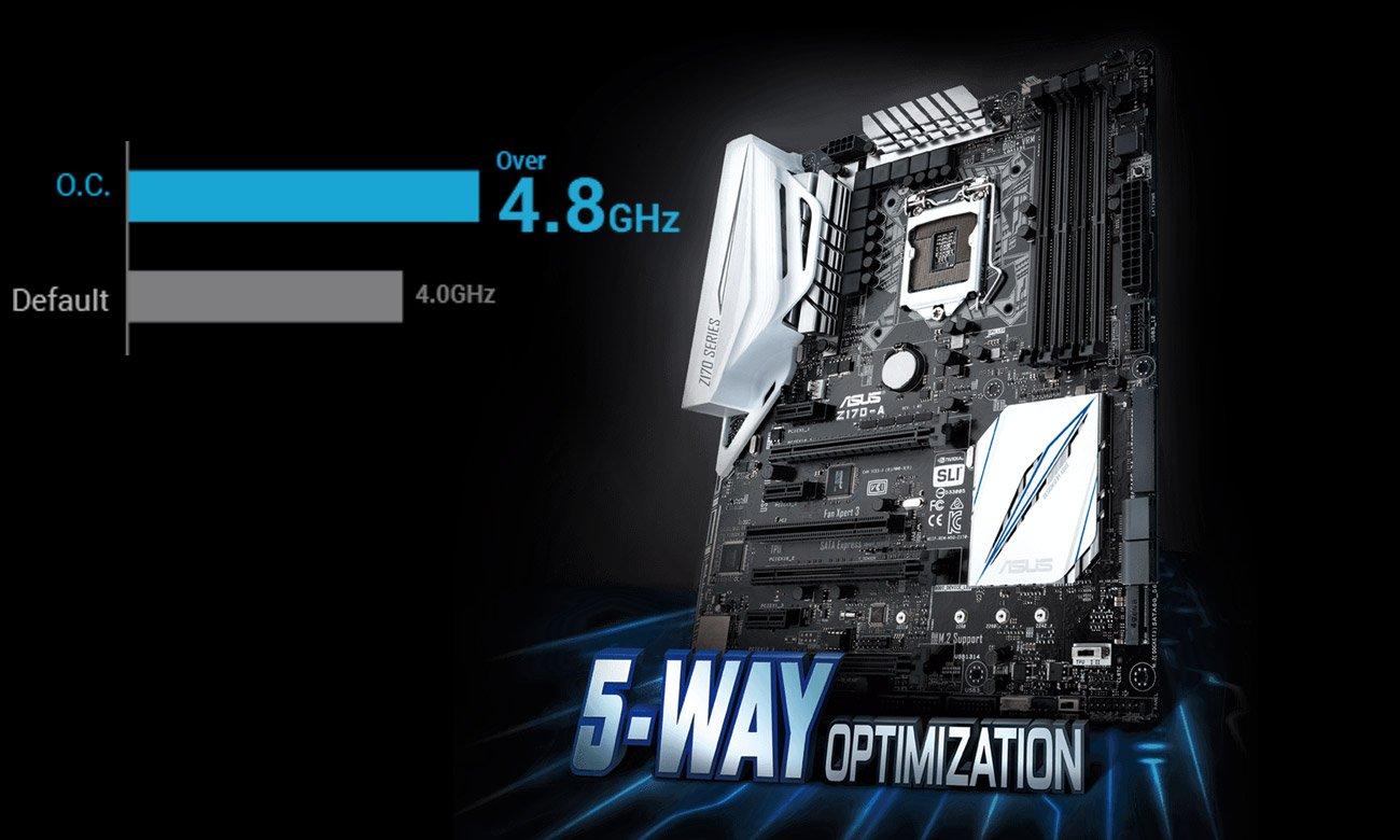 ASUS Z170-A Funkcja 5-Way Optimization