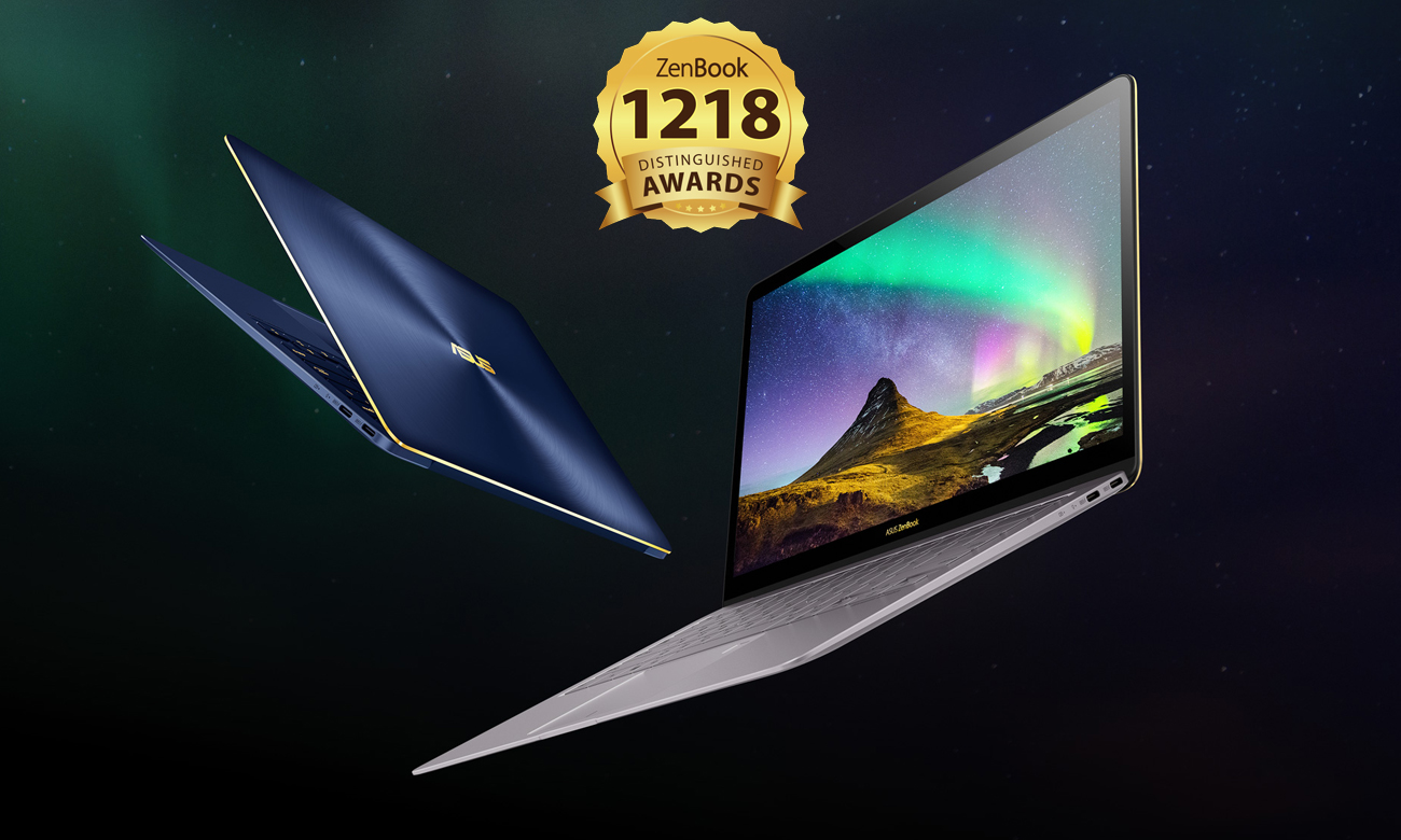 ASUS ZenBook 3 Deluxe UX490 niezrównana kombinacja mocy i piękna