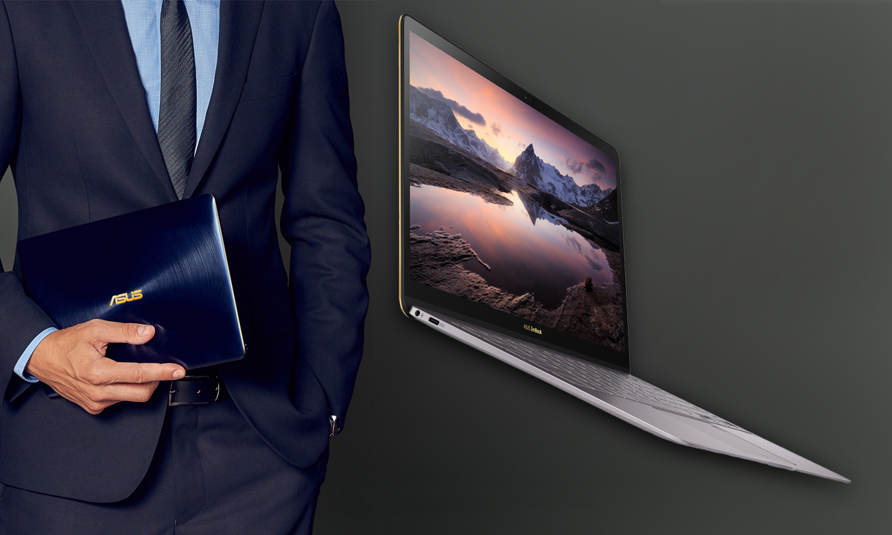 ASUS ZenBook 3 Deluxe UX490 Cieńszy, lżejszy, smuklejszy