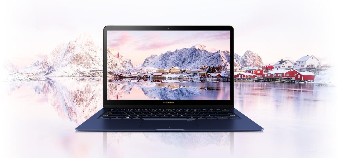 ASUS ZenBook 3 Deluxe UX490 Doskonały wyświetlacz, Ultra realistyczne efekty wizualne