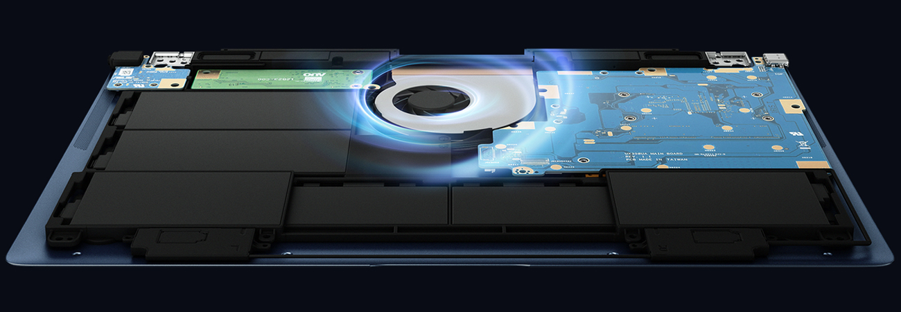 ASUS ZenBook 3 Deluxe UX490 Unikatowy układ chłodzący