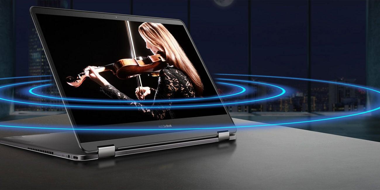 ASUS ZenBook Flip UX370UA dźwięk Harman Kardon