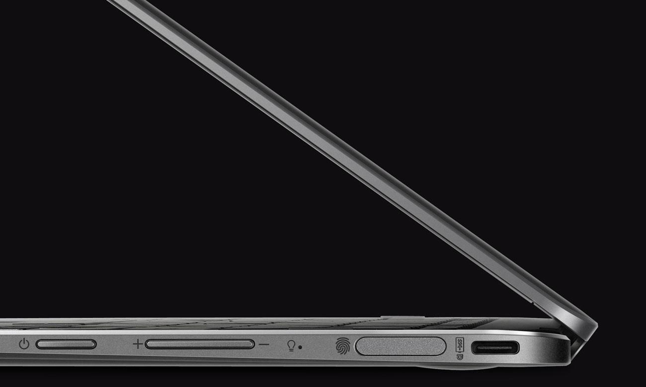 ASUS ZenBook Flip UX370UA Czytnik linii papilarnych z superszybkim rozpoznawaniem