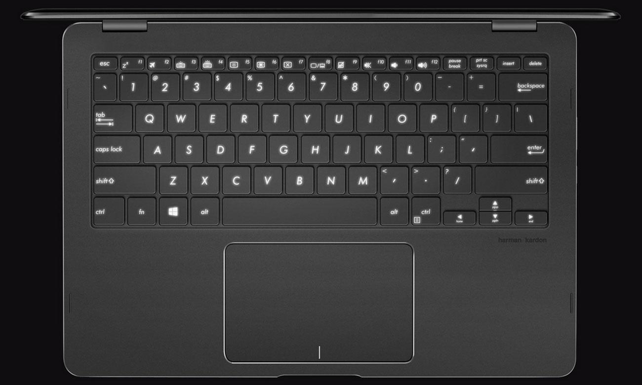 ASUS ZenBook Flip UX370UA Gładki i precyzyjny touchpad