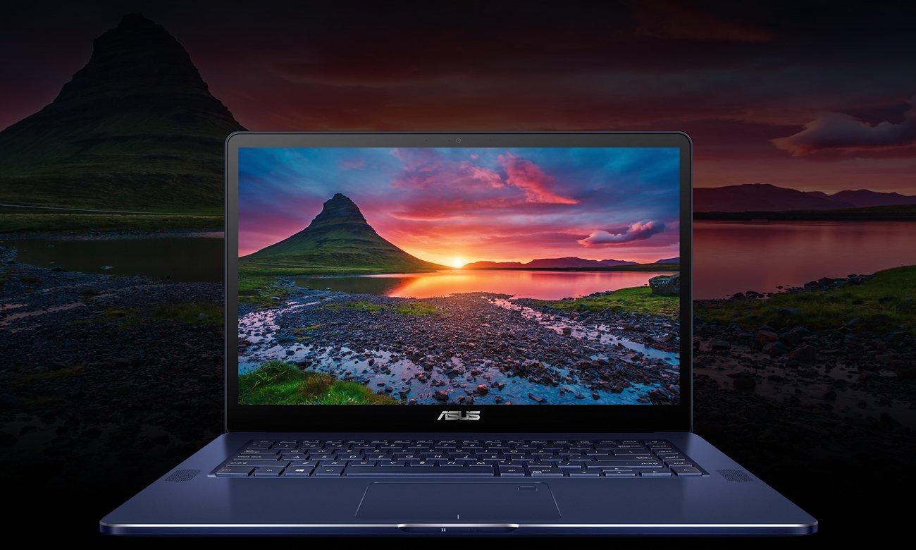 ASUS ZenBook Pro UX550VD Całodniowa praca na baterii + szybkie ładowanie