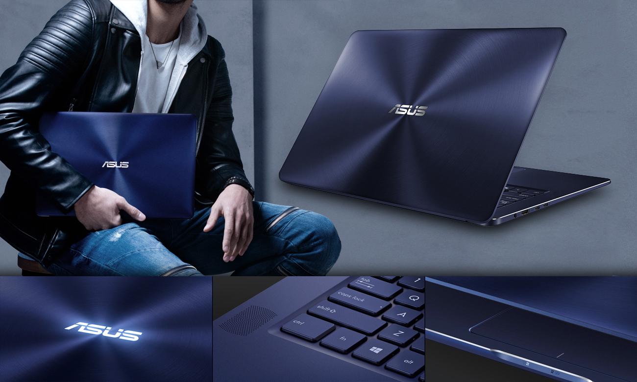 ASUS ZenBook Pro UX550VD Trwała elegancja, ponadczasowy styl