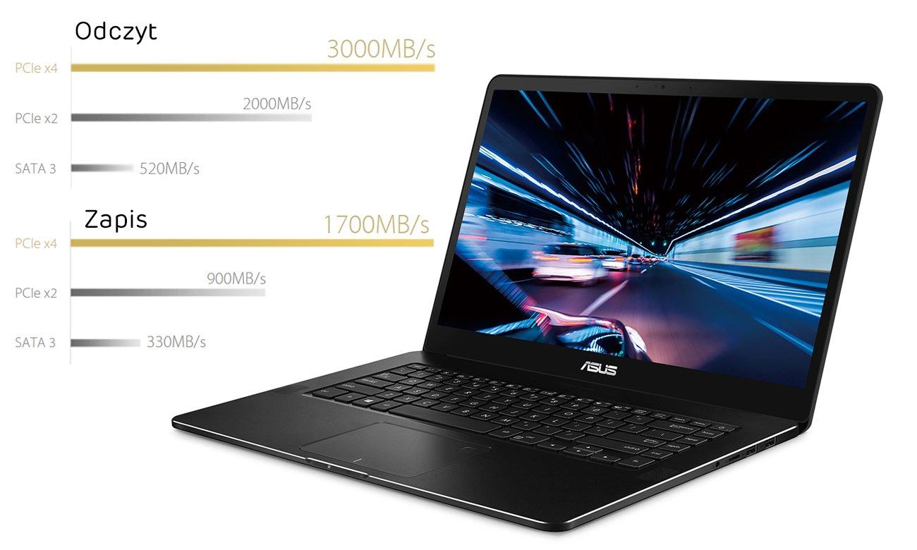 ASUS ZenBook Pro UX550VE Zdumiewająca wydajność