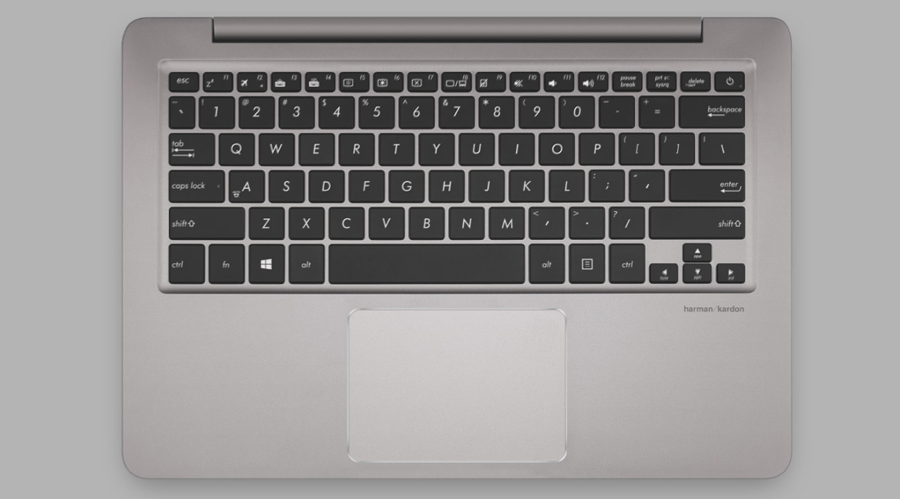 Laptop ASUS ZenBook UX410UQ wygodna, podświetlana klawiatura, Precyzyjny touchpad