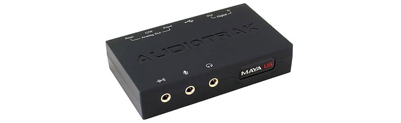 Karta muzyczna Audiotrak Maya U5 USB Wbudowany nowoczesny układ