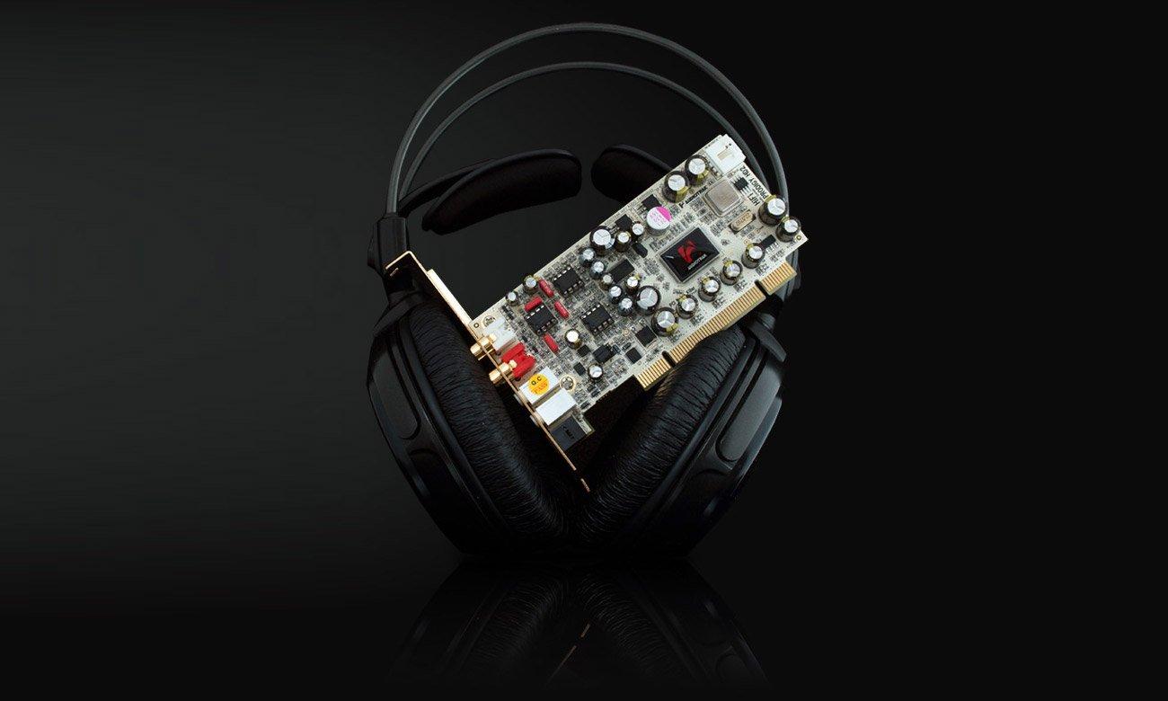 Karta dźwiękowa Audiotrak Prodigy HD2 Advance DE Potężny wzmacniacz słuchawkowy
