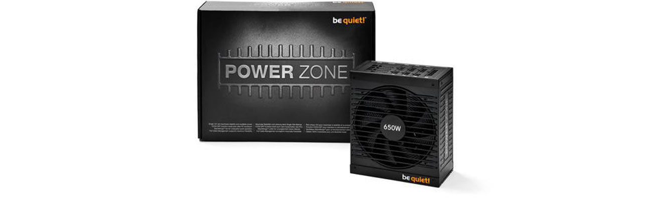 be quiet! 650W Power Zone BOX moc i stabilność