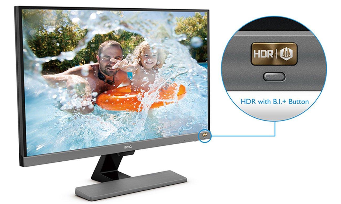 BenQ EW277HDR HDR wysoka jasność i głęboki kontrast