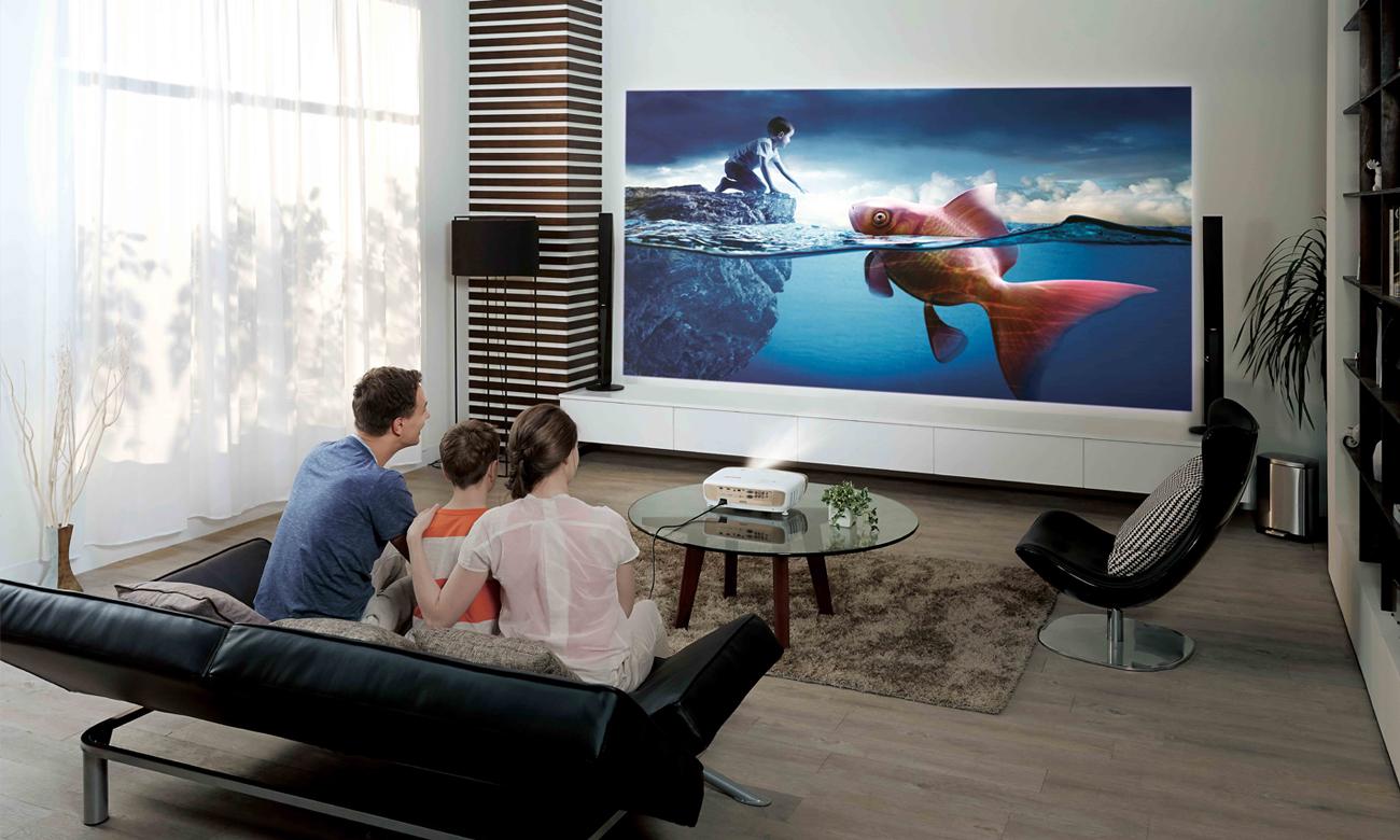 BenQ W2000 DLP Spektakularny Obraz Full HD 1080p
