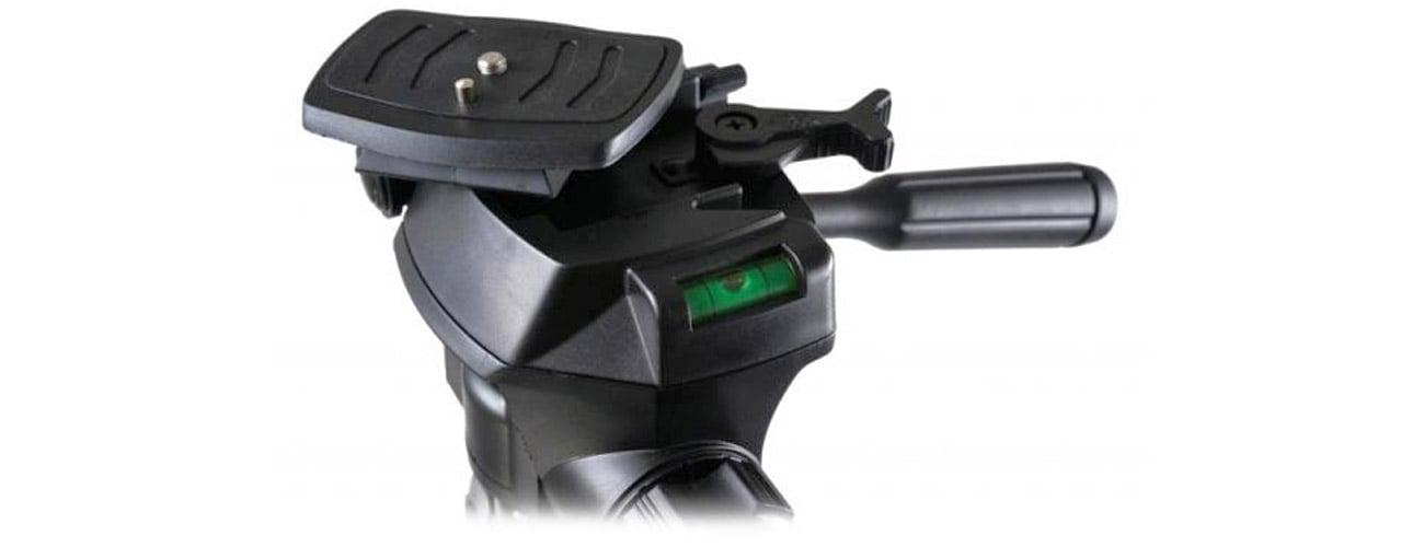 Camrock TE68 czarny + Głowica 3D wytrzymałośc i niezawodność
