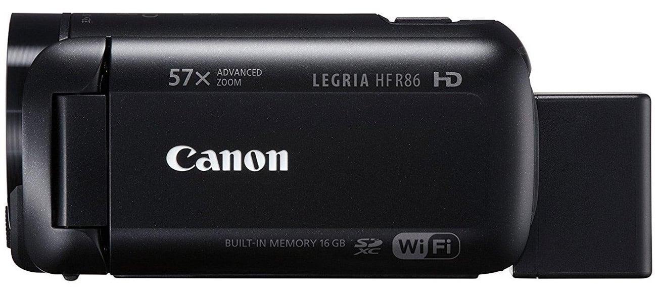 Canon Legria HF R86 Łączność Wi-Fi oraz NFC