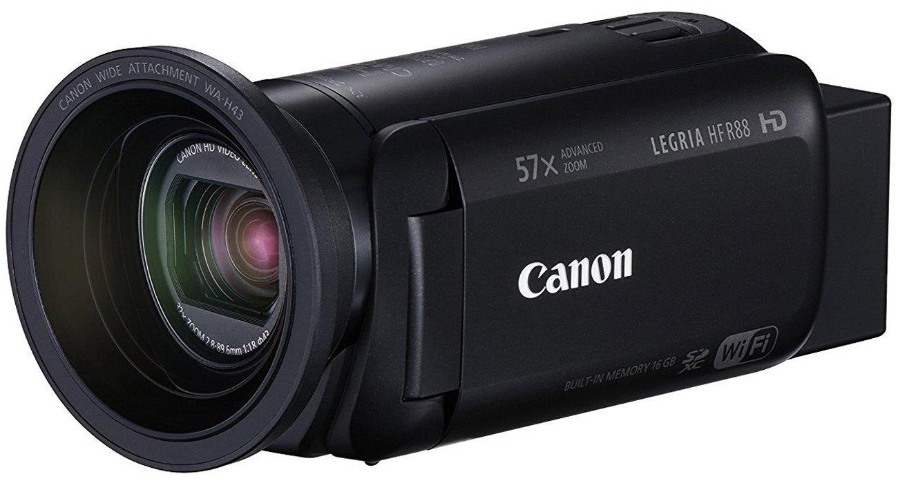 Canon Legria HF R88 Łączność Wi-Fi oraz NFC