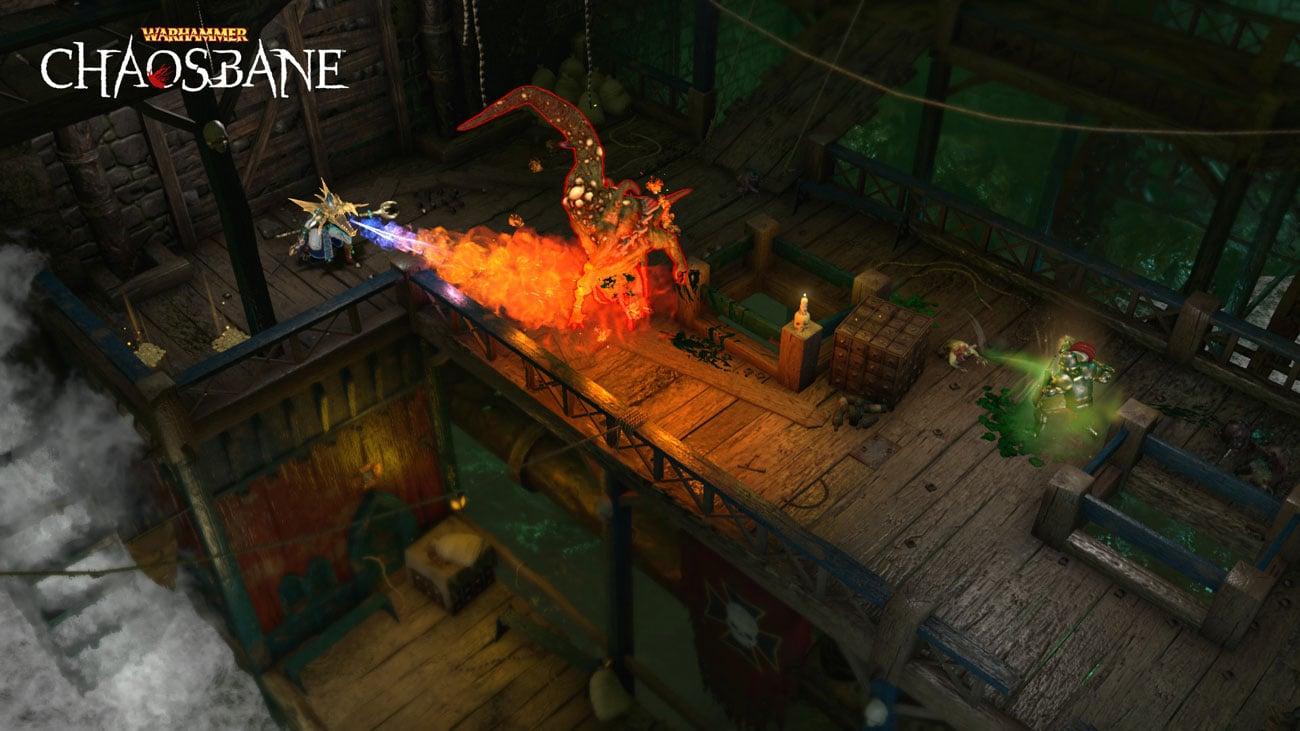 Gra PS4 Warhammer: Chaosbane