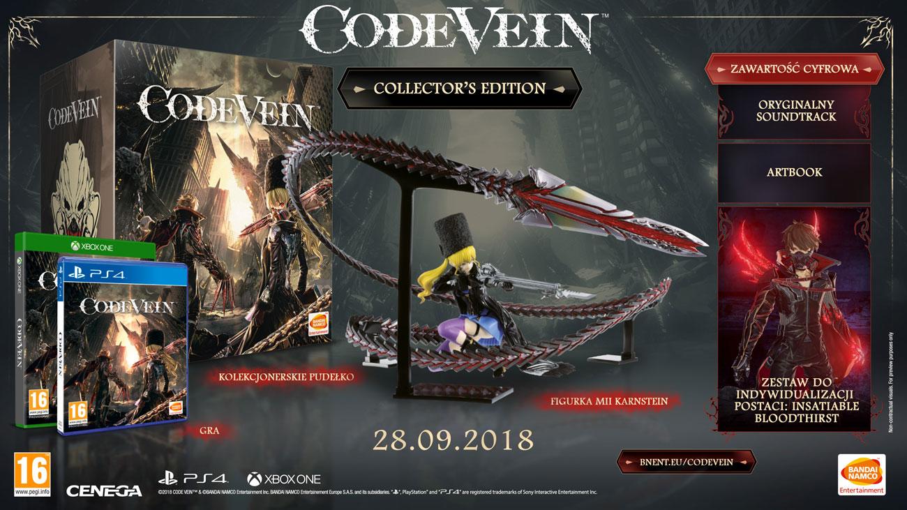 Code Vein - Edycja Kolekcjonerska