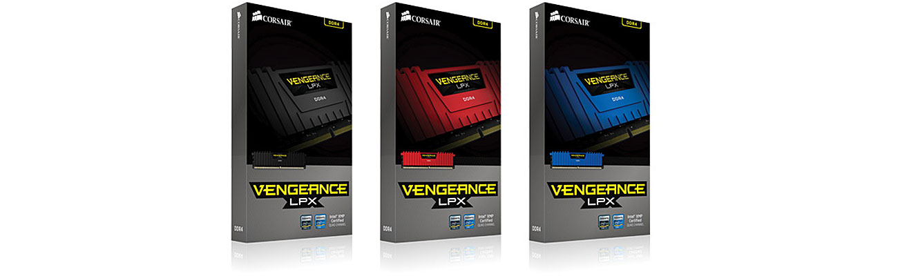 Pamięć RAM DDR4 Corsair Vengeance LPX Black kolor