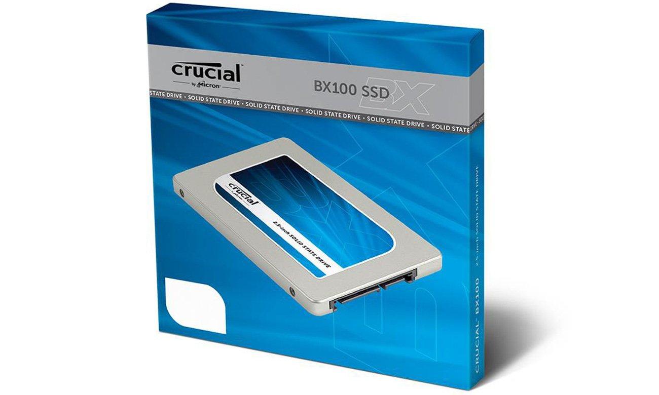 Dysk SSD Crucial 120GB BX100 7mm Szybki dostęp do Twoich danych