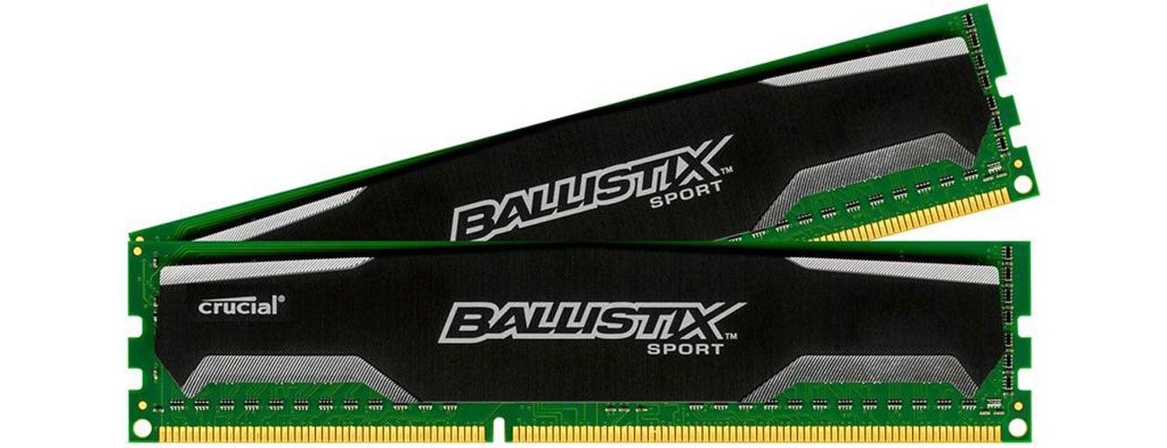 Pamięć RAM DDR3 Crucial Ballistix Sport wydajność