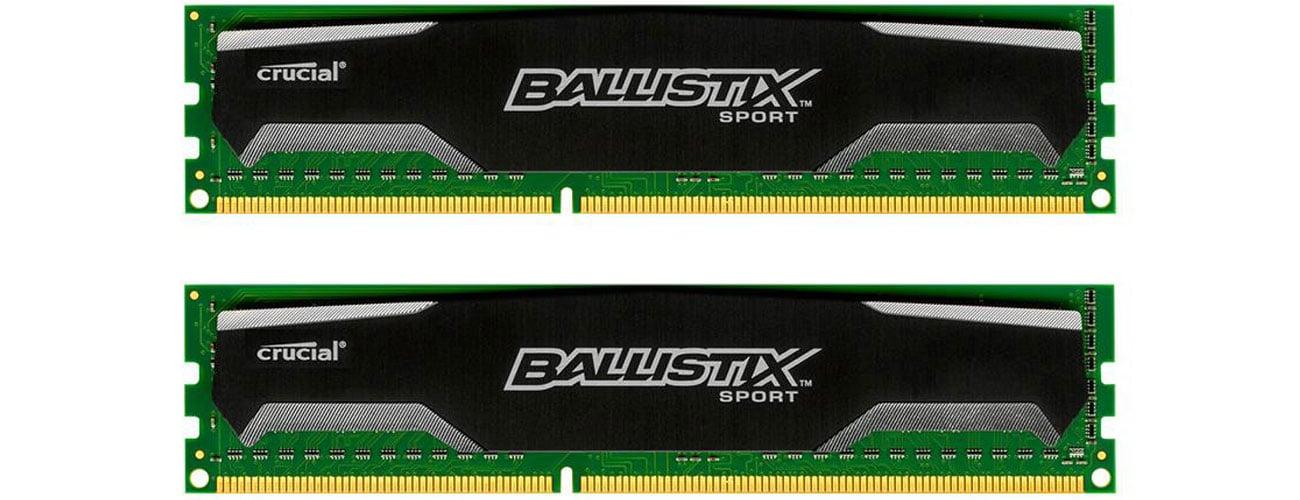 Pamięć RAM DDR3 Crucial Ballistix Sport kompatybilność