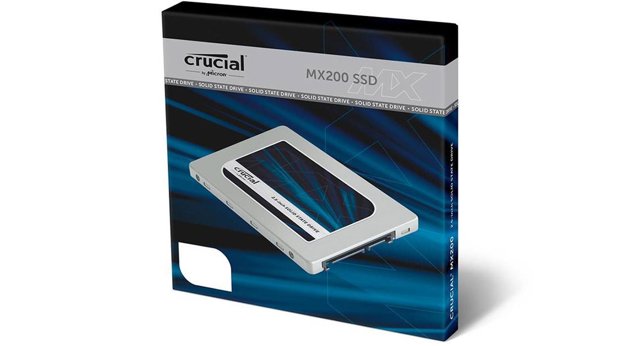 Dysk Crucial 500GB SATA SSD MX200 7mm Szybki dostęp do Twoich danych