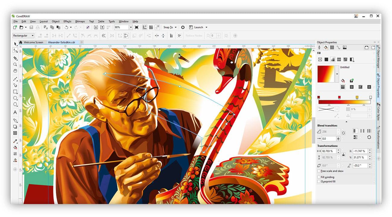 CorelDRAW Graphics Suite X7 Special Edition narzędzia szkoleniowe