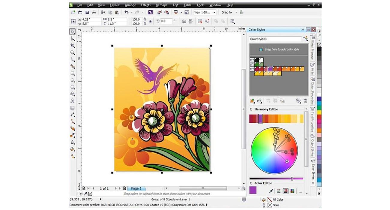 Corel CorelDRAW Graphics Suite X6 Special Edition Nowe oraz ulepszone funkcje