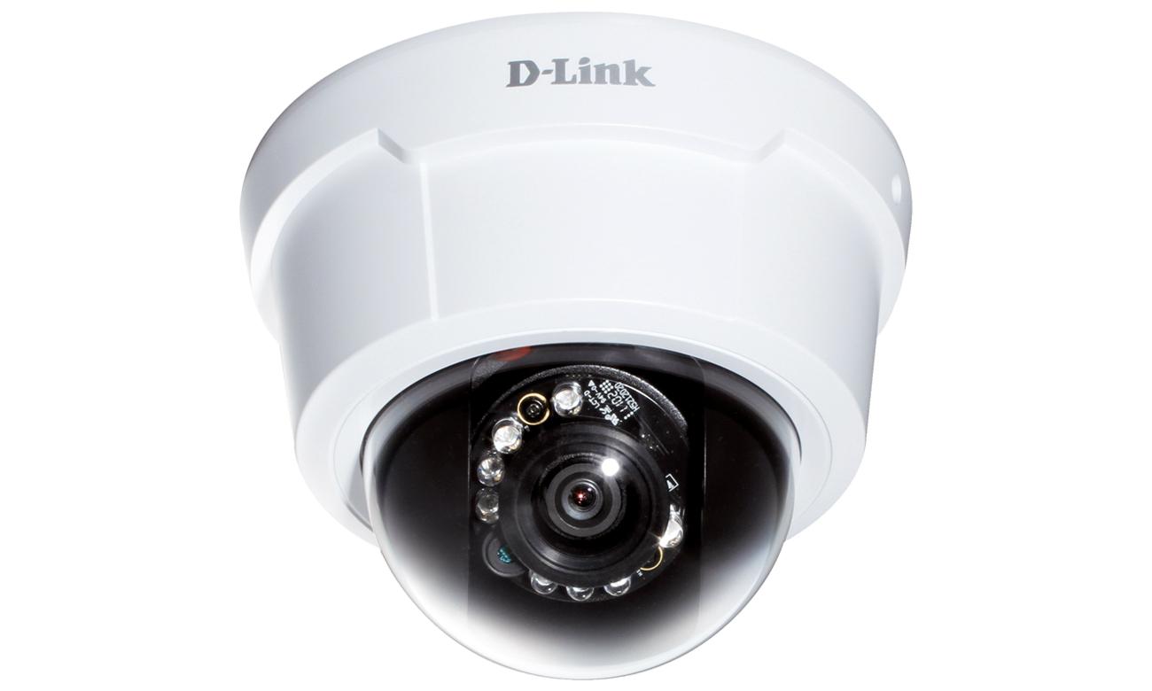D-Link DCS-6113 Dome HD LED IR dzień/noc ICR PoE Obsługa wielu strumieni wideo