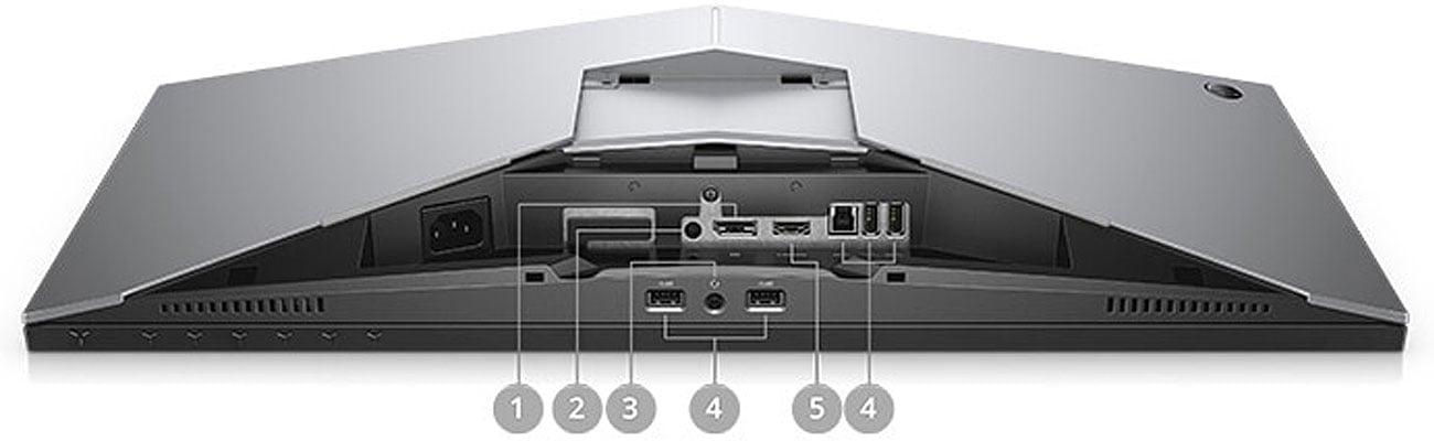 Dell Alienware AW2518HF Bogata liczba złączy