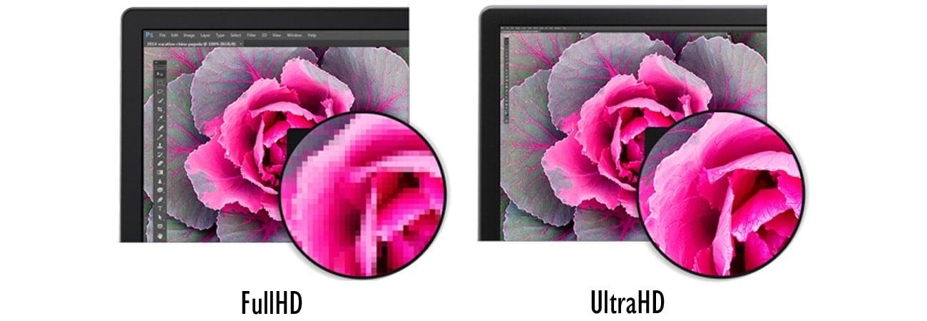 Dell P2715Q Idealnie ostry obraz 4K