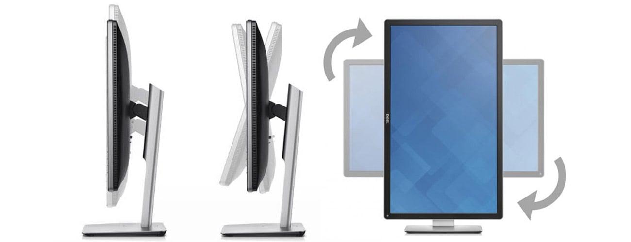 Dell P2715Q Większy komfort użytkowania monitora
