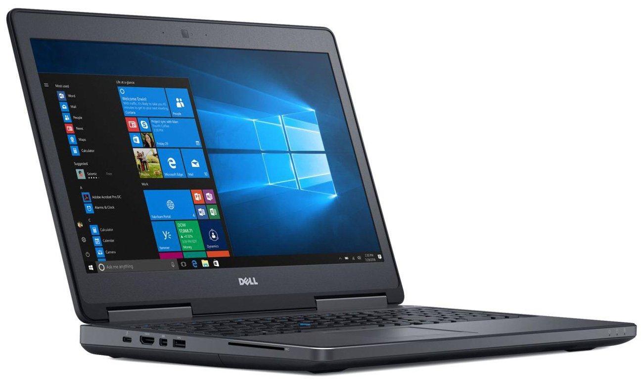 Dell Precision 7520 Procesor Intel Core i7 siódmej generacji