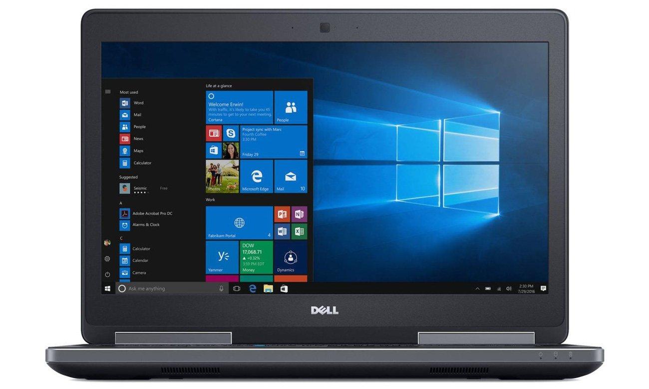 Dell Precision 7520 szerokokątny wyświetlacz IPS Full HD
