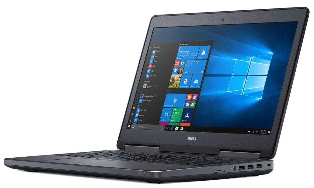 Dell Precision 7520 Certyfikat ISV i Niezawodność w pracy